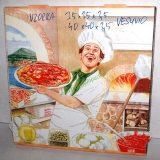 400x400x35 mm Pizza box VESUVIO